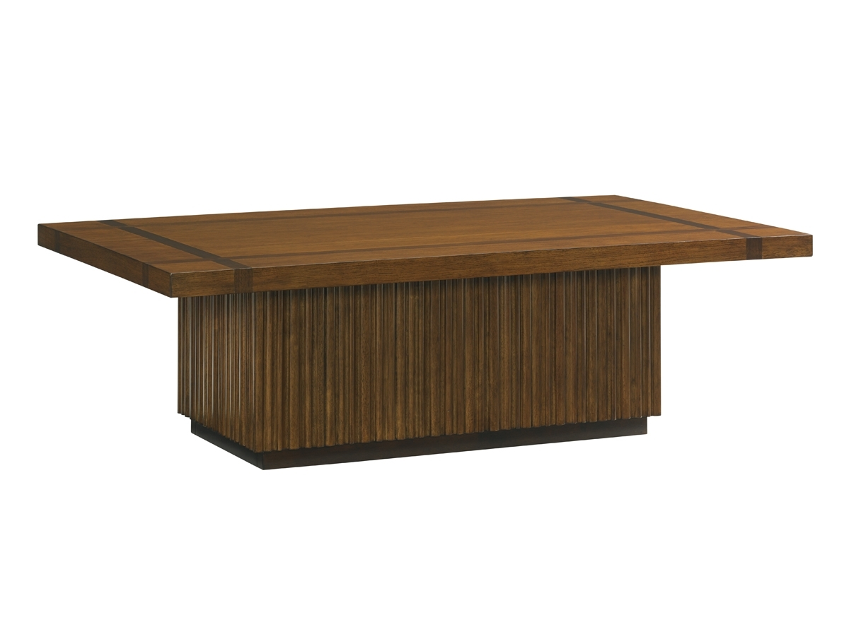 Island Fusion Castaway Rectangular Cocktail Table | Lexington Home With Regard To Element Ivory Rectangular Coffee Tables (View 14 of 30)