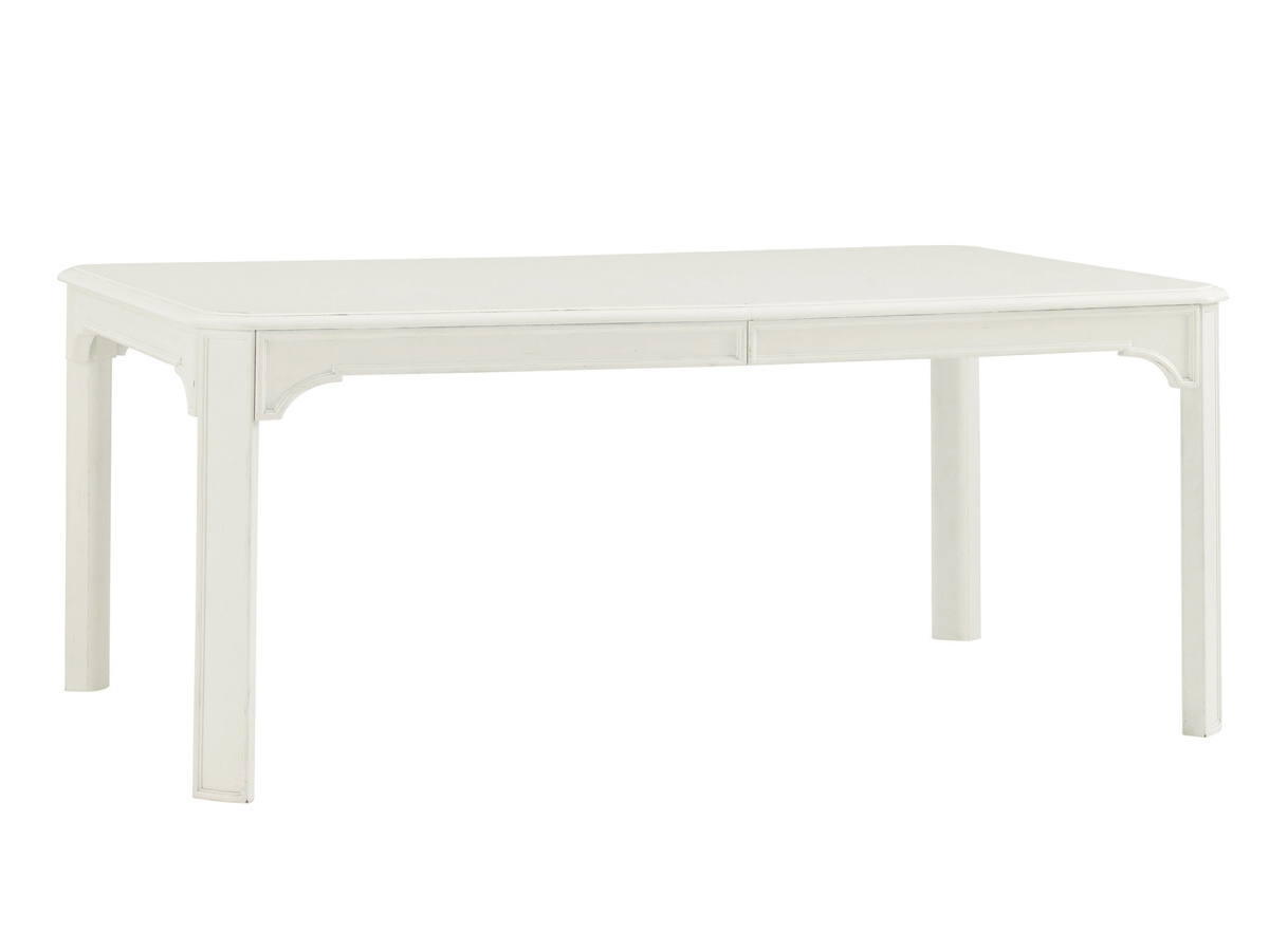 Ivory Key Castel Harbour Rectangular Dining Table | Lexington Home within Element Ivory Rectangular Coffee Tables (Image 14 of 30)