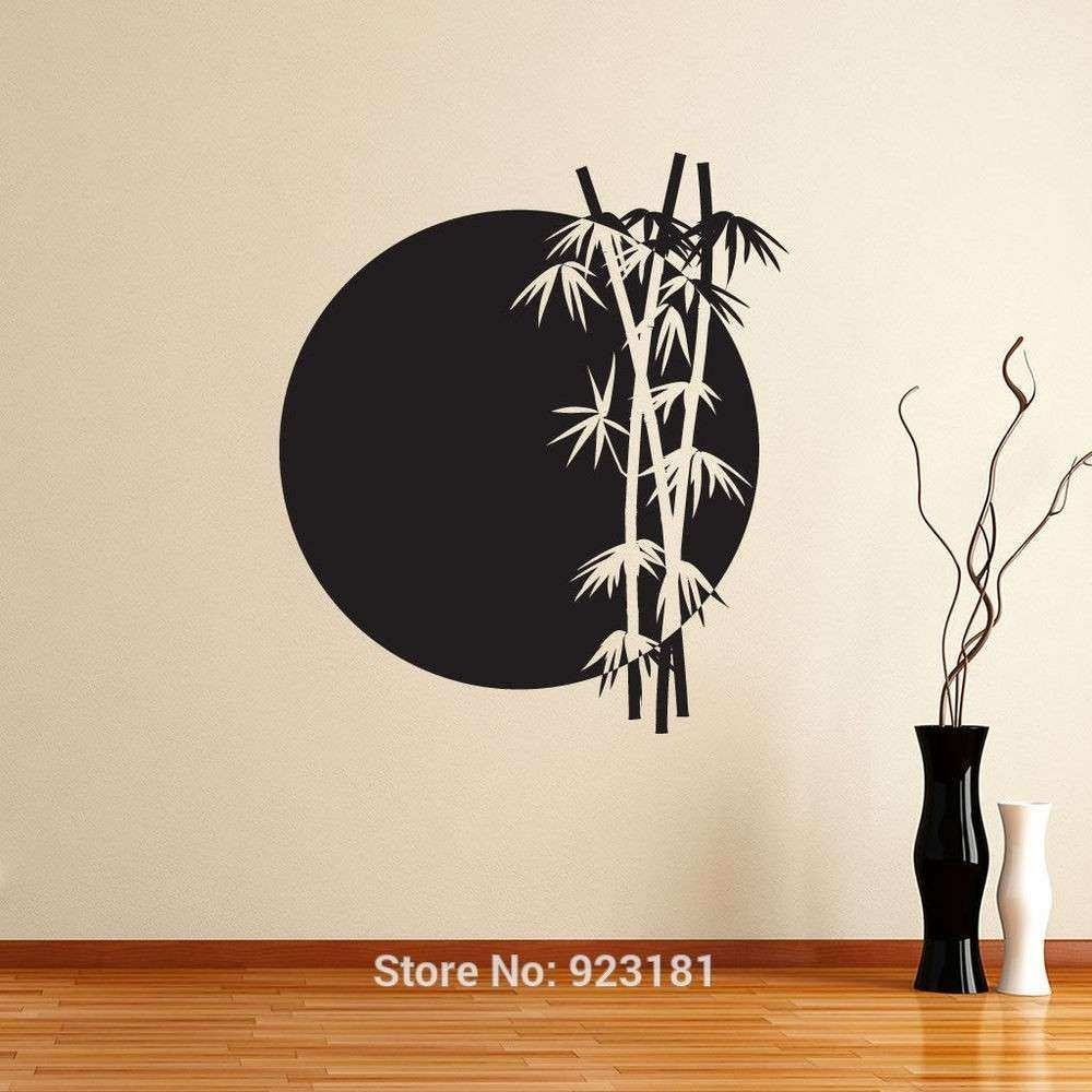 Japan Wall Decor Elegant Wall Art Design Ideas Grey Moon Japanese in Japanese Wall Art (Image 7 of 20)