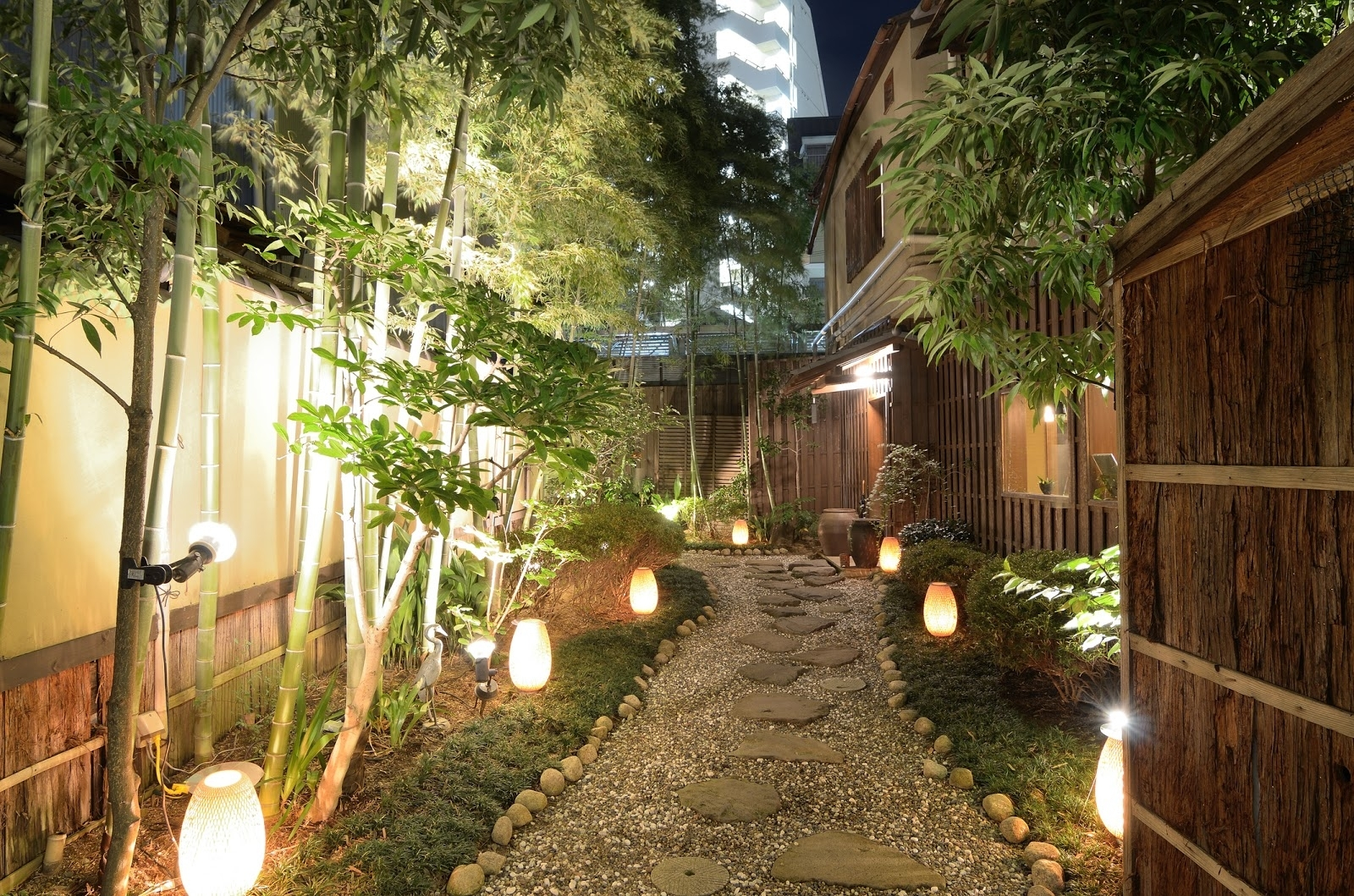 Japanese Fantasy: Modern Outdoor Lighting And Garden Design throughout Outdoor Lighting Japanese Lanterns (Image 10 of 20)