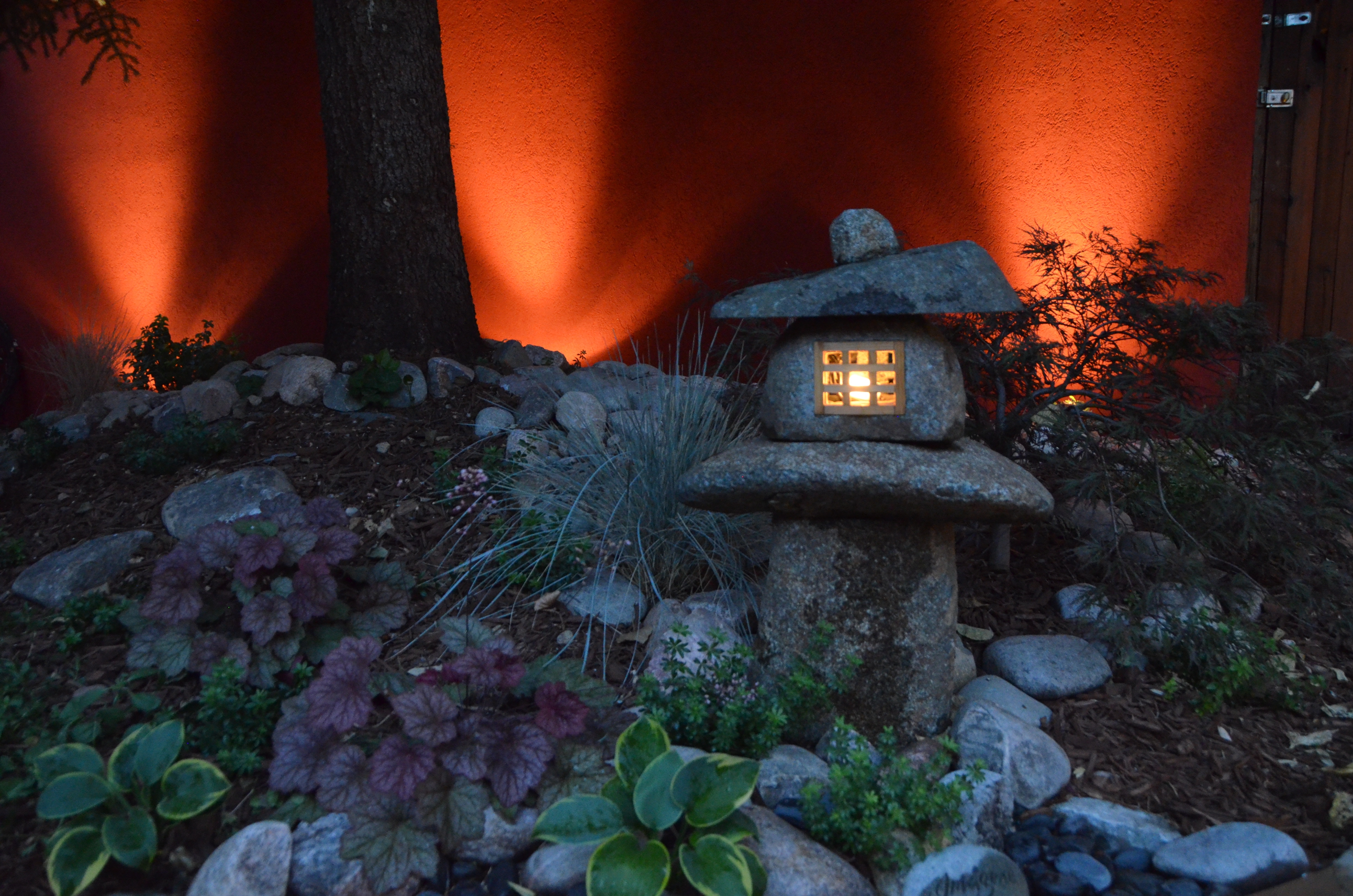 Japanese Lantern With Outdoor Lighting - Landscaping In Denver with regard to Outdoor Japanese Lanterns (Image 7 of 20)