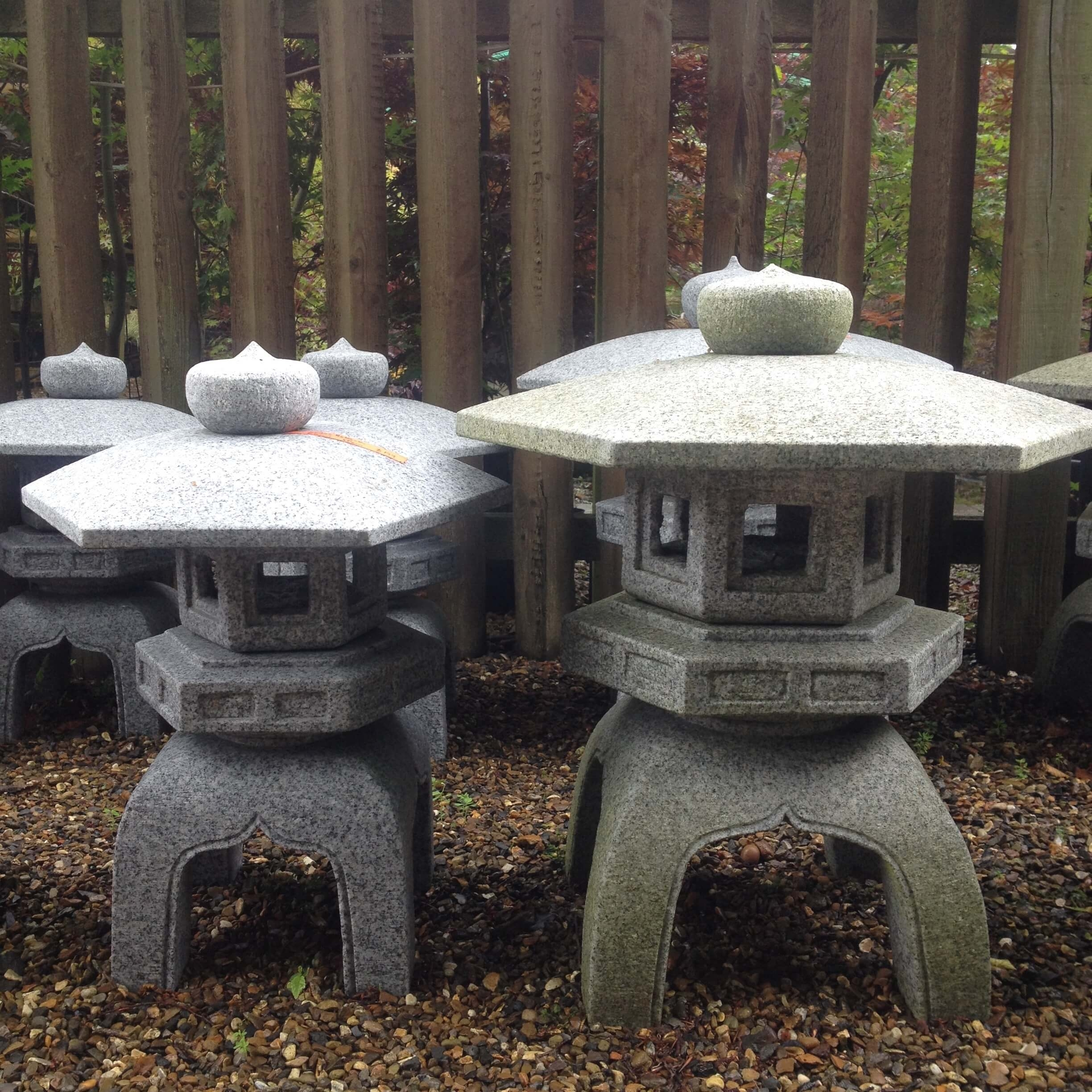 Japanese Stone Lanterns Kyoto Range – Build A Japanese Garden Uk Intended For Outdoor Japanese Lanterns (View 20 of 20)