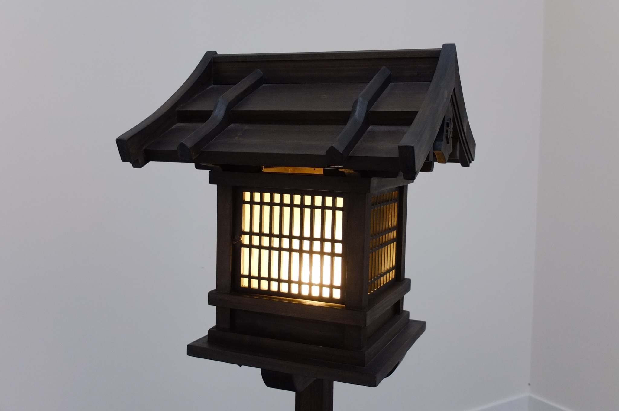 Japanese Wooden Lantern, Outdoor (Wl2) – Eastern Classics regarding Outdoor Lighting Japanese Lanterns (Image 16 of 20)
