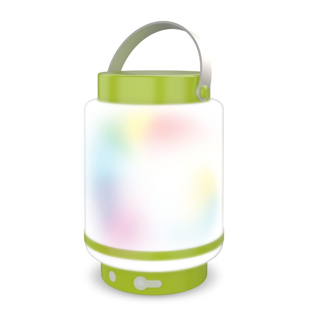 Je319069 Idual Doji Outdoor Lemon Green 1 Light Colour Changing Led within Outdoor Lanterns With Remote Control (Image 8 of 20)