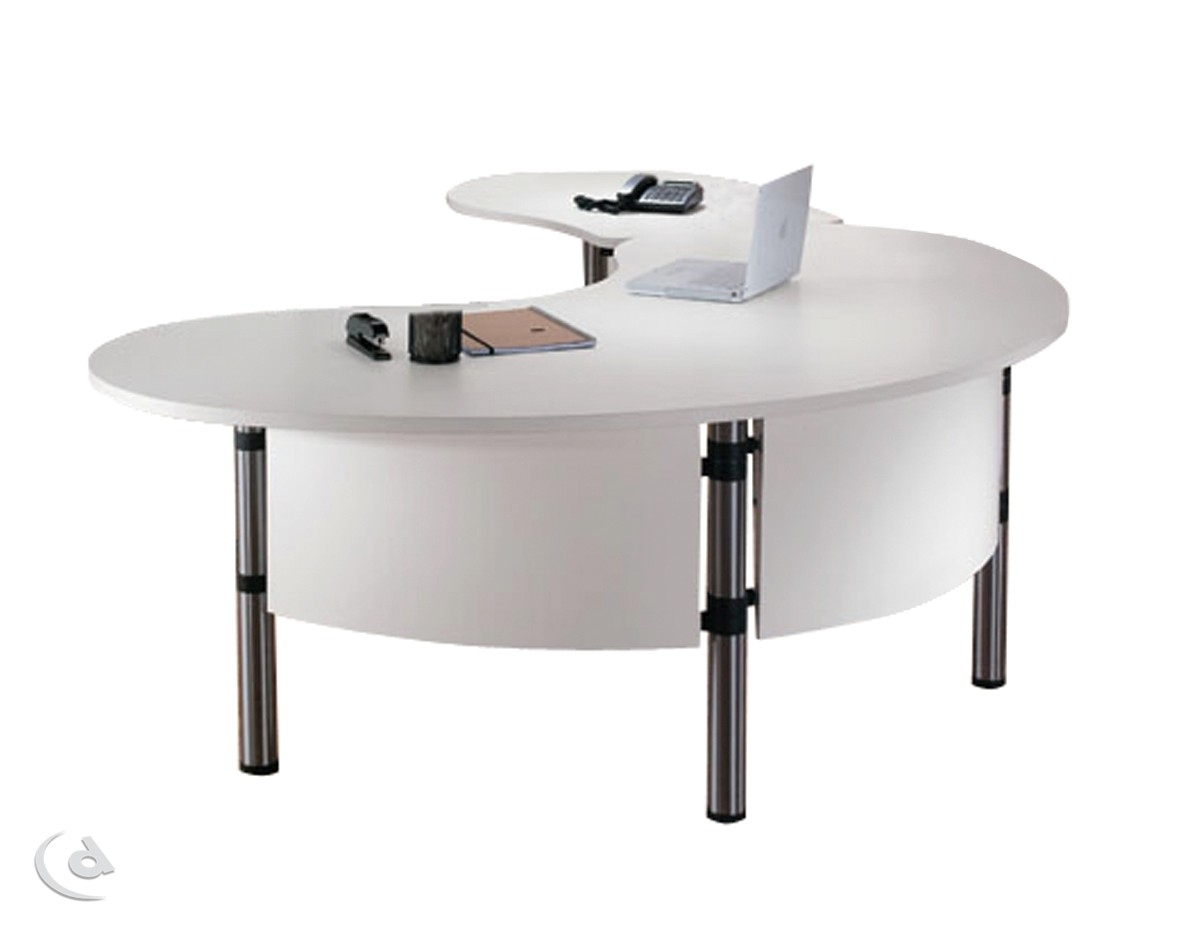 Jelly Bean Desk with Jelly Bean Coffee Tables (Image 18 of 30)