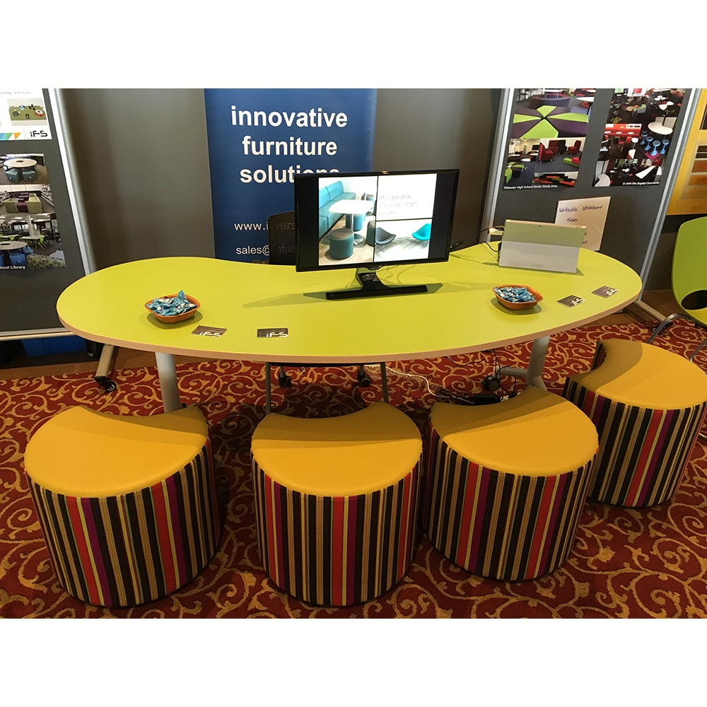 Jelly Bean Table Tilt & Folding Table Rangeabax Kingfisher Pty Ltd With Jelly Bean Coffee Tables (Image 19 of 30)
