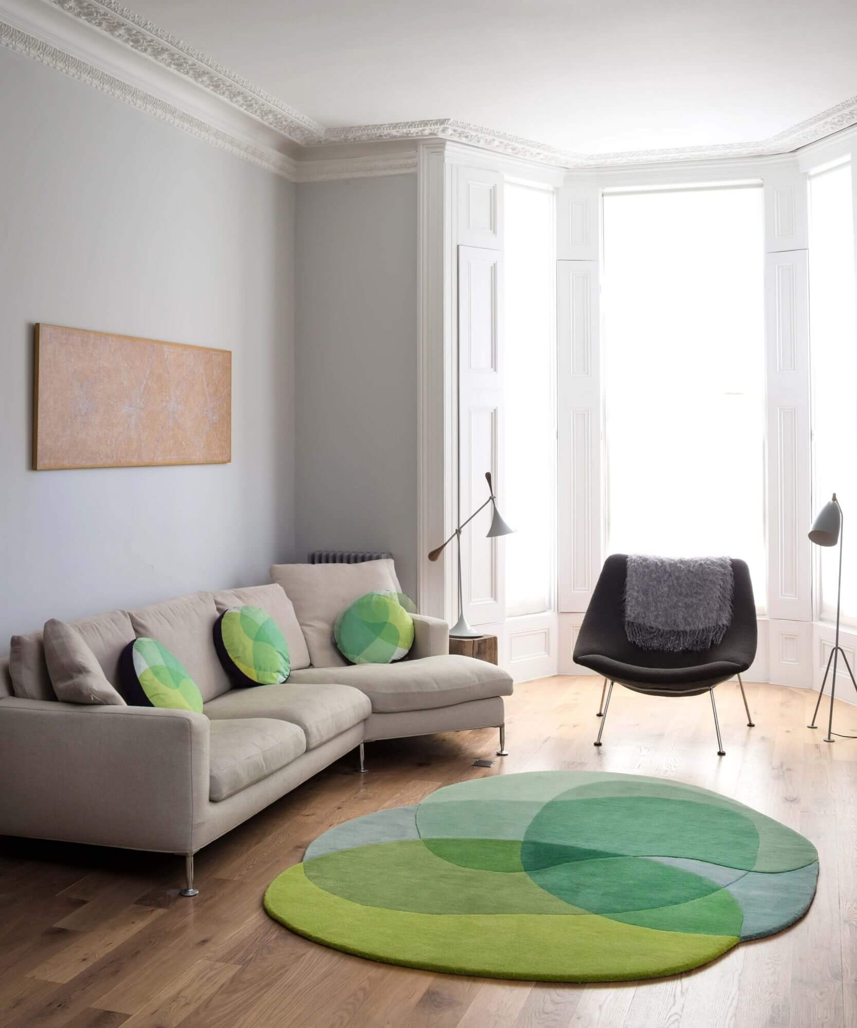 Jellybean Rug (Lime) – Sonya Winner with regard to Jelly Bean Coffee Tables (Image 20 of 30)