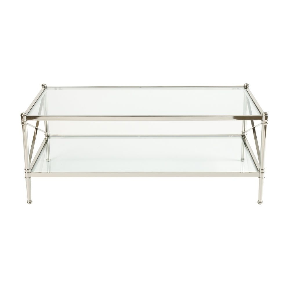 Jocelyn Coffee Table - Ethan Allen Us | Coffee Tables | Pinterest pertaining to Rectangular Brass Finish And Glass Coffee Tables (Image 11 of 30)