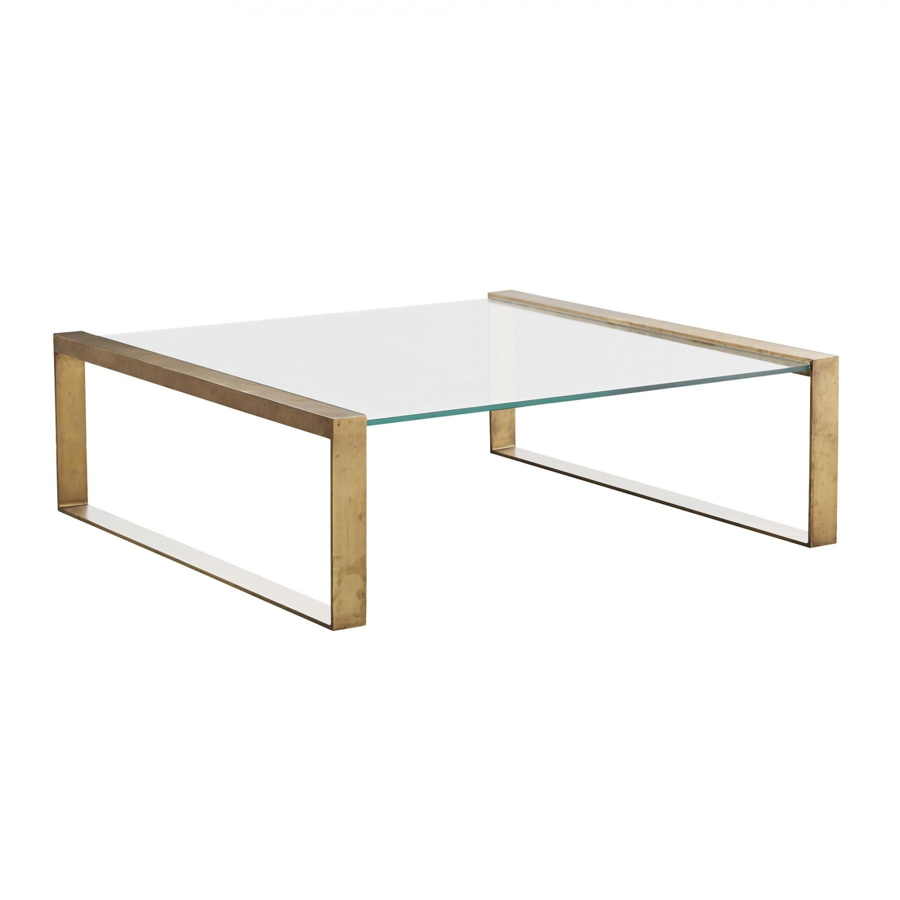 Jocelyn Coffee Table Within Rectangular Brass Finish And Glass Coffee Tables (Photo 16 of 30)
