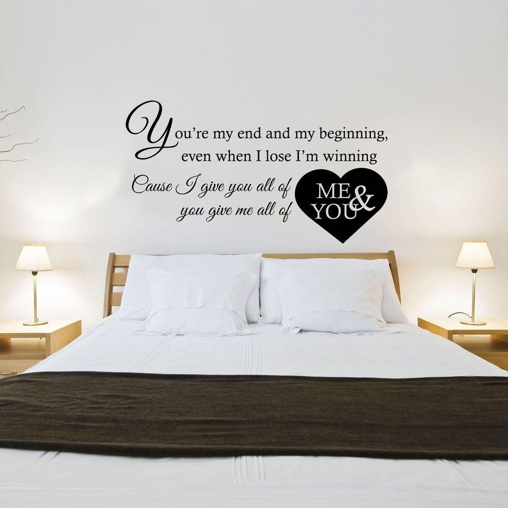 John Legend - All Of Me Song Lyrics - Wall Art Sticker Decal throughout Song Lyric Wall Art (Image 8 of 20)