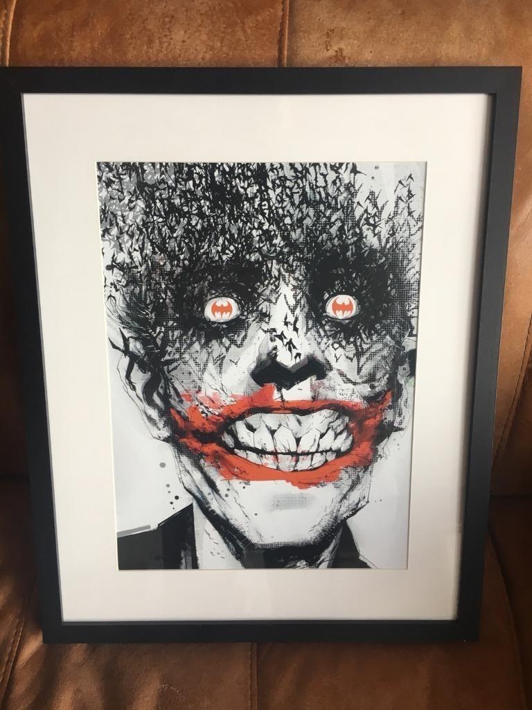 Joker Wall Art | In Coatbridge, North Lanarkshire | Gumtree inside Joker Wall Art (Image 15 of 20)
