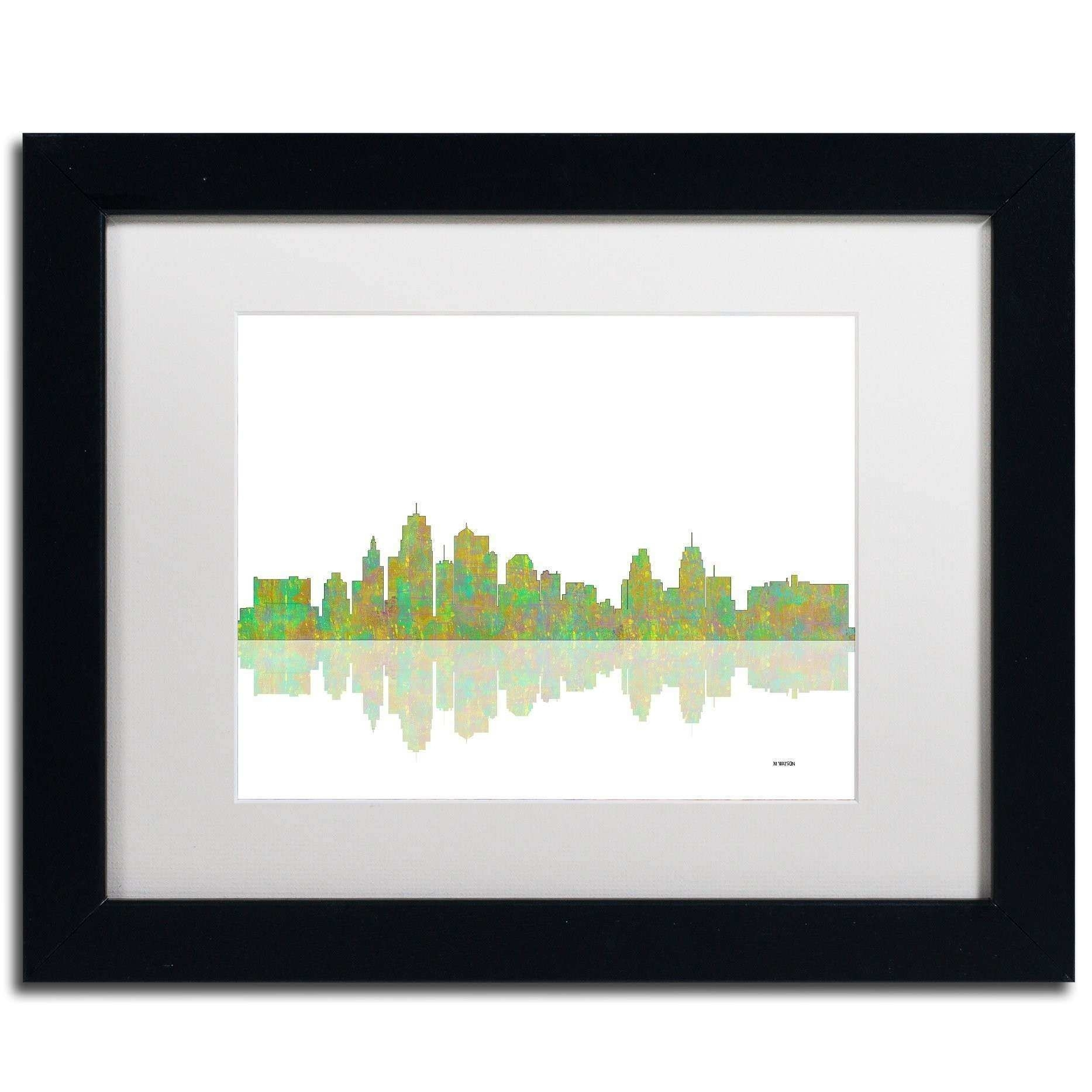 Kansas City Wall Art Beautiful Trademark Art Kansas City Missouri in Kansas City Wall Art (Image 12 of 20)