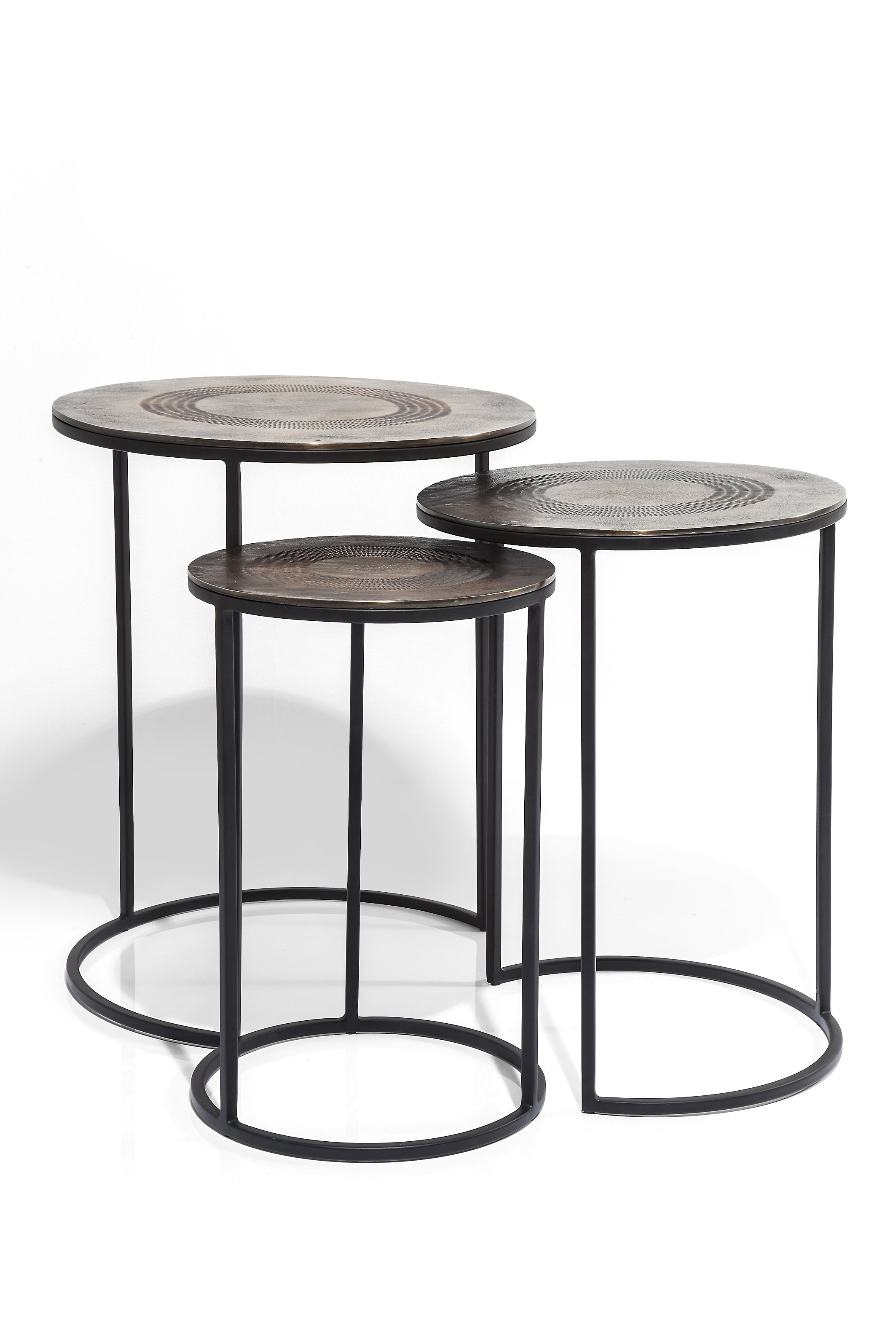 Kare Design Marrakesh 3 Piece Nest Of Tables | Wayfair.co.uk For Marrakesh Side Tables (Photo 26 of 30)