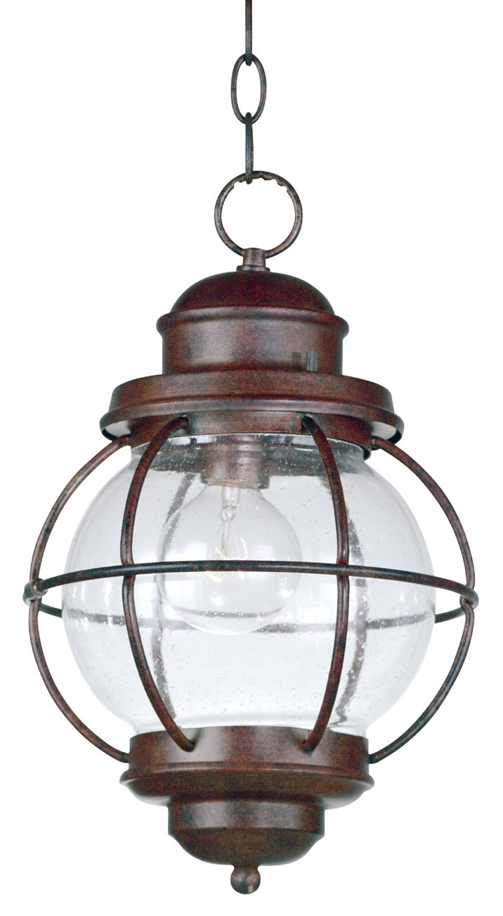 Kenroy Home 90965Gc Hatteras Indoor / Outdoor Hanging Lantern Inside Outdoor Nautical Lanterns (Gallery 12 of 20)