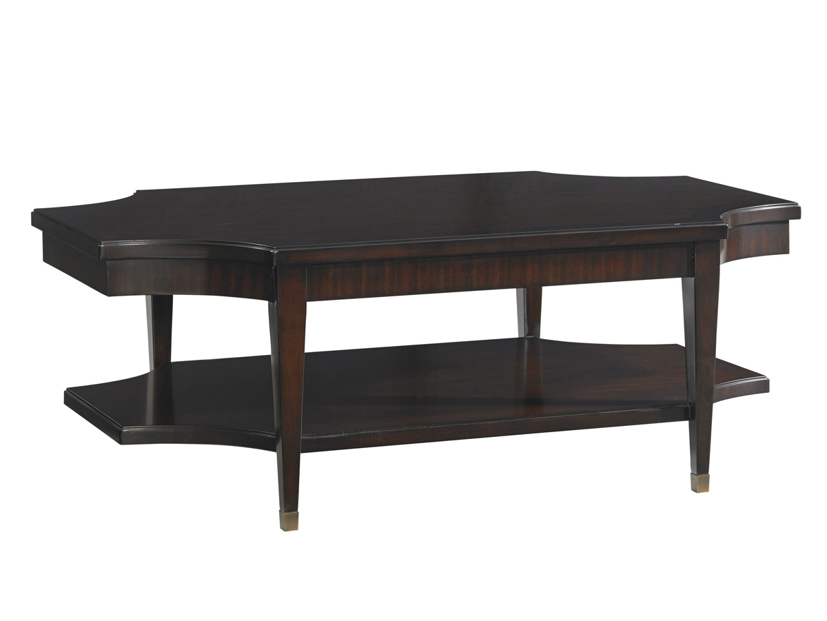 Kensington Place Richmond Rectangular Cocktail Table | Lexington throughout Element Ivory Rectangular Coffee Tables (Image 15 of 30)