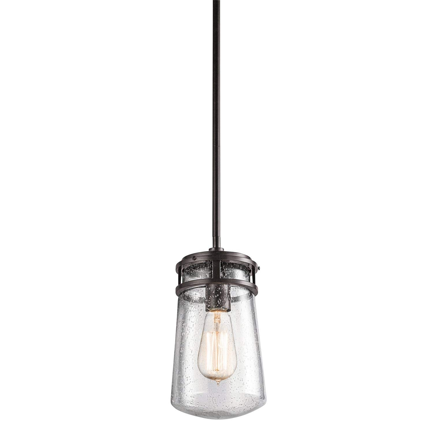 Kichler 49447Az One Light Outdoor Pendant     Amazon Regarding Outdoor Pendant Lanterns (Photo 14 of 20)