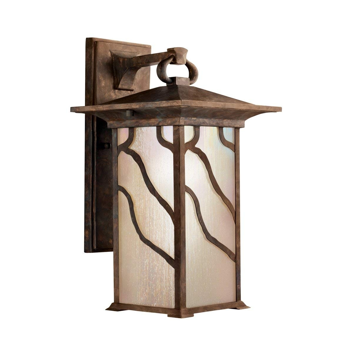 Kichler 9031Dco One Light Outdoor Wall Mount   Wall Porch Lights Within Copper Outdoor Lanterns (Photo 7 of 20)