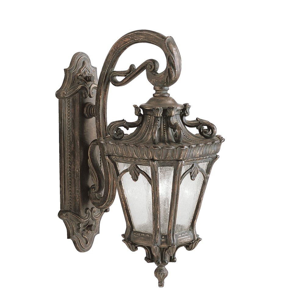 Kichler 9357Ld Tournai Outdoor Wall 2-Light, Londonderry - Wall in Outdoor Cast Iron Lanterns (Image 11 of 20)