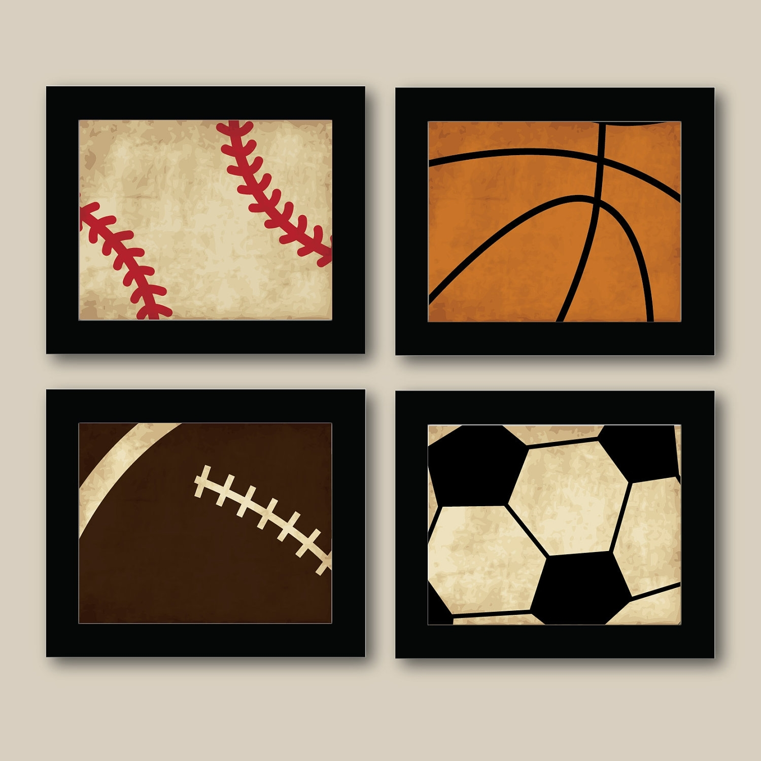 Kids Sports Wall Art – Elitflat For Sports Wall Art (View 10 of 20)