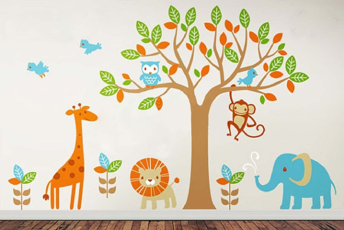 Kids Wall Decor Design Ideas Unique Kids Wall Decor – Home Design Inside Kids Wall Art (Gallery 7 of 20)