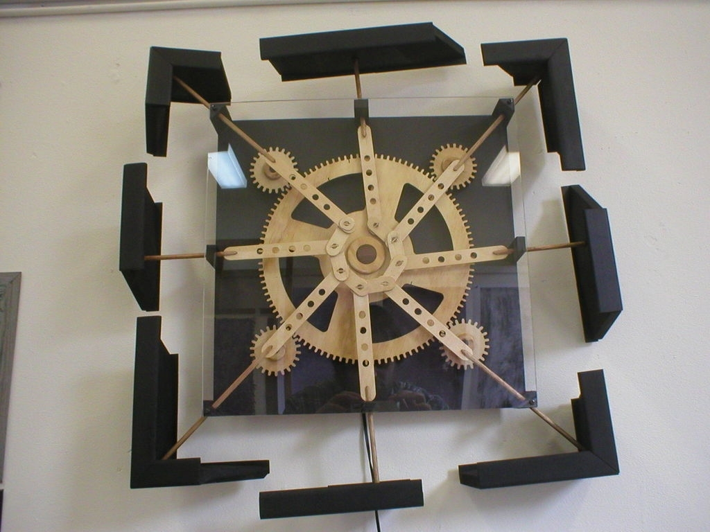 Kinetic Wall Sculptures   Dizzy.: 3 Steps Within Kinetic Wall Art (Photo 1 of 20)