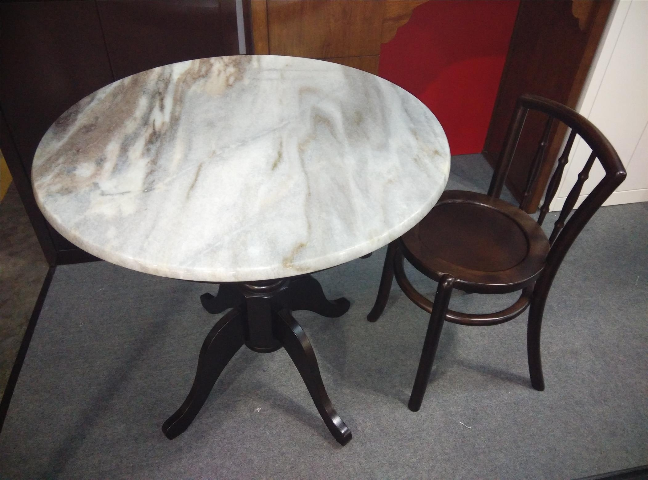 Kopitiam Classic Antique Marble Coff (End 7/10/2021 2:46 Pm) pertaining to Suspend Ii Marble And Wood Coffee Tables (Image 13 of 30)