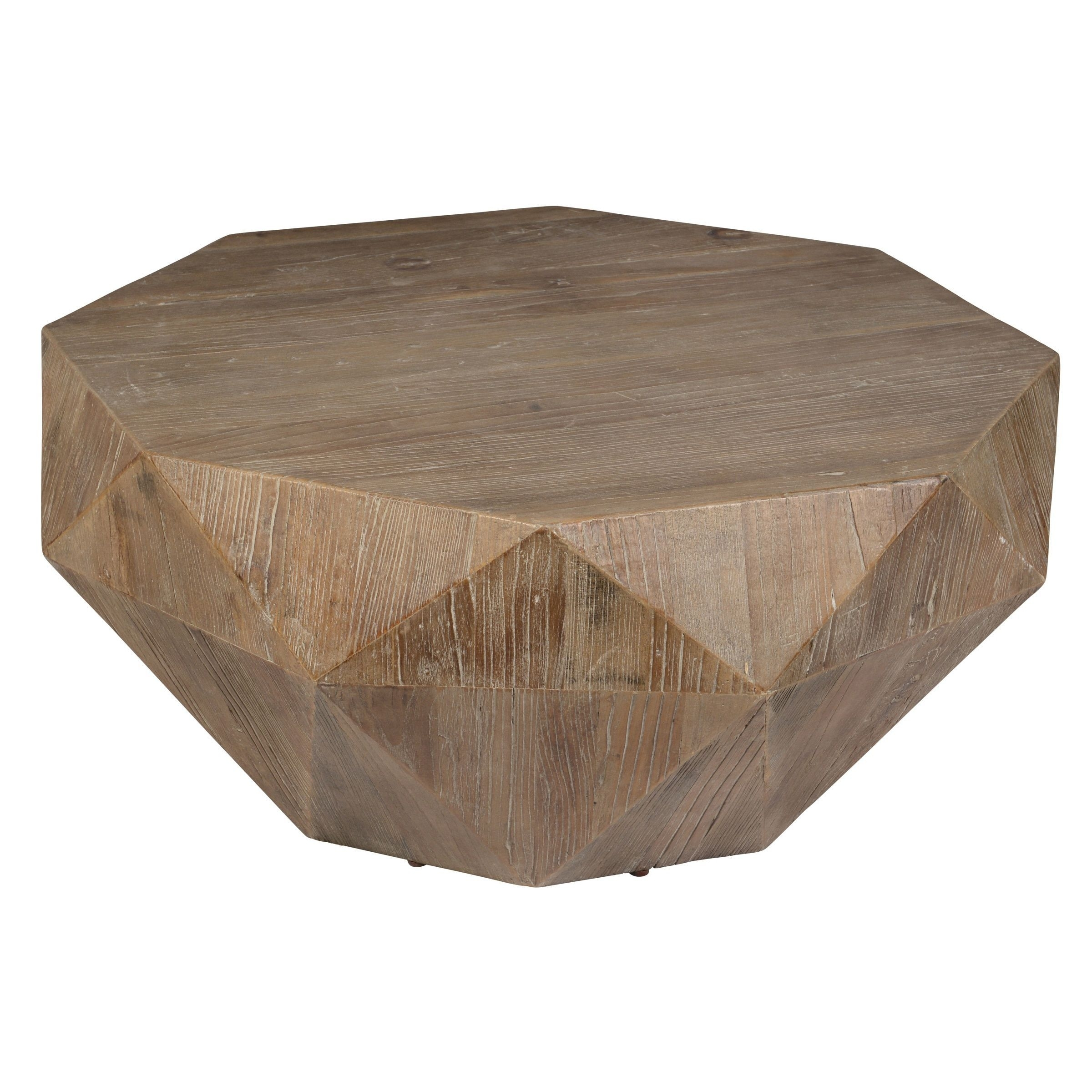 Kosas Home Transitional Casablanca Coffee Table (Natural Geometric With Casablanca Coffee Tables (Photo 2 of 30)