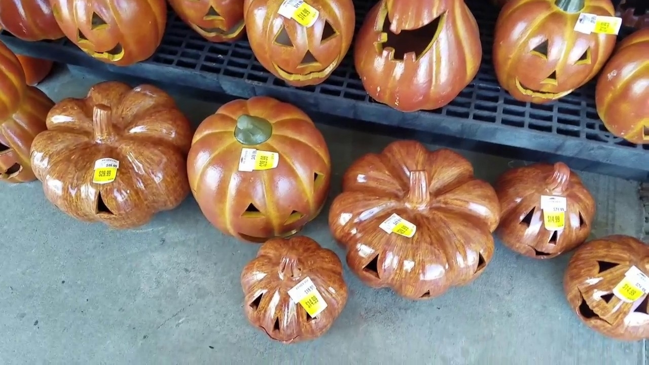 Kroger Halloween Pumpkins And Candy.   Youtube Inside Kroger Outdoor Lanterns (Photo 19 of 20)