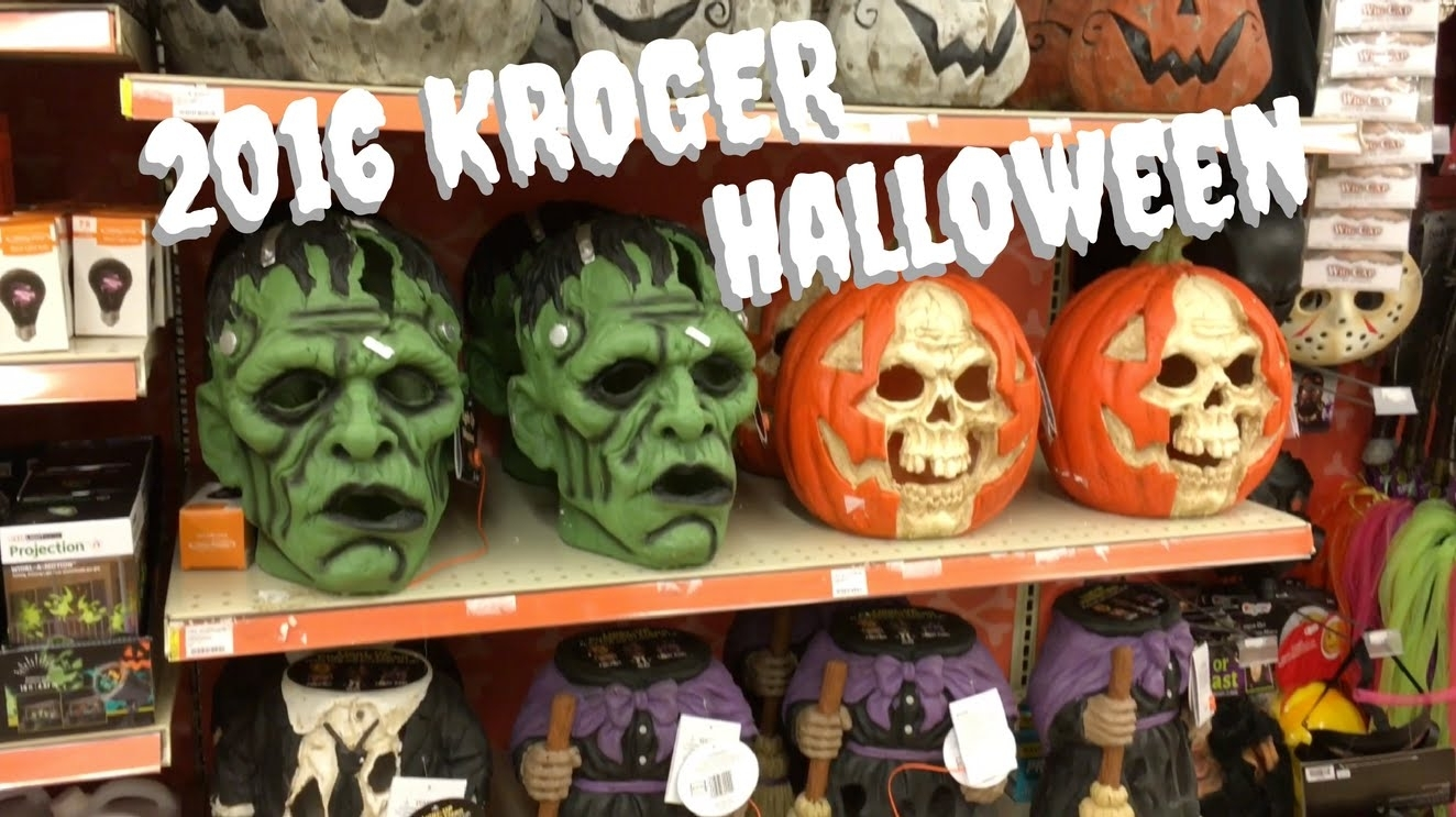 Kroger's 2016 Halloween Items   Youtube Intended For Kroger Outdoor Lanterns (Photo 13 of 20)