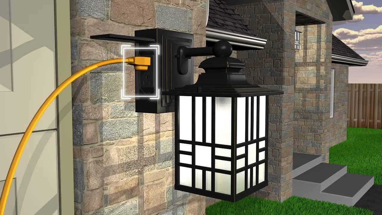 Lamps: Best Outdoor Lighting Ideas With Costco Outdoor Lights Pertaining To Outdoor Lanterns At Costco (View 12 of 20)
