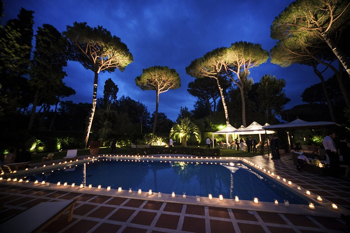 Landscape Lighting Services - Landscaping, Irrigation Systems And with Outdoor Lanterns for Poolside (Image 9 of 20)