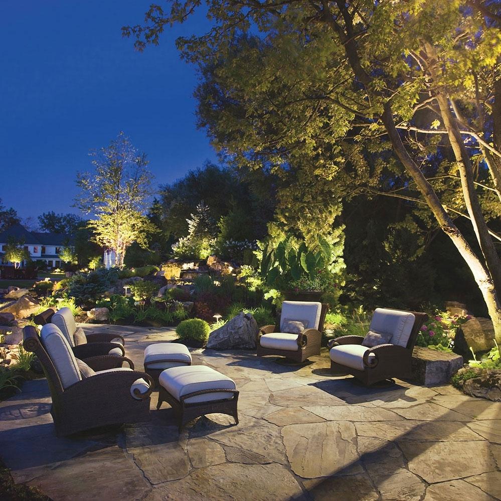 Landscape Lighting With Regard To Kichler Outdoor Lanterns (View 3 of 20)