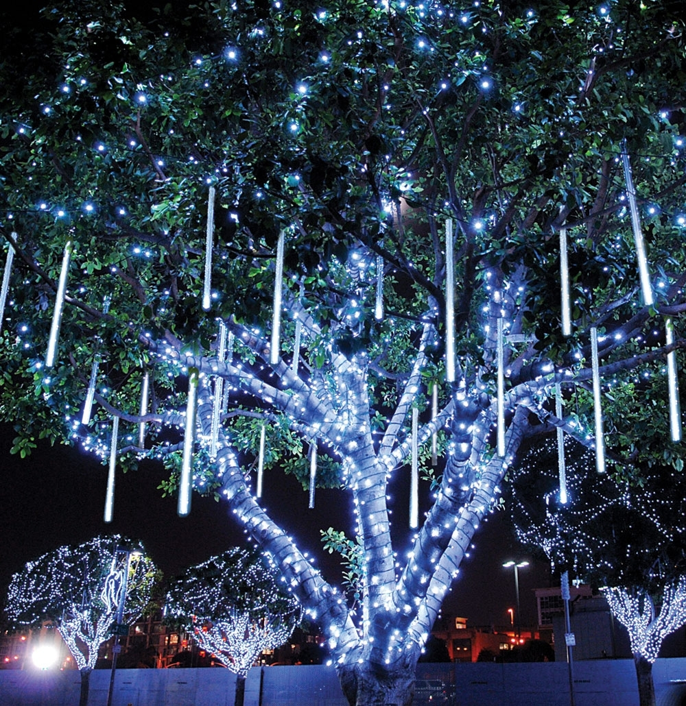 Landscape Tree Lighting Decorating Outdoor Trees Easy Christmas inside Outdoor Lanterns For Christmas (Image 9 of 20)