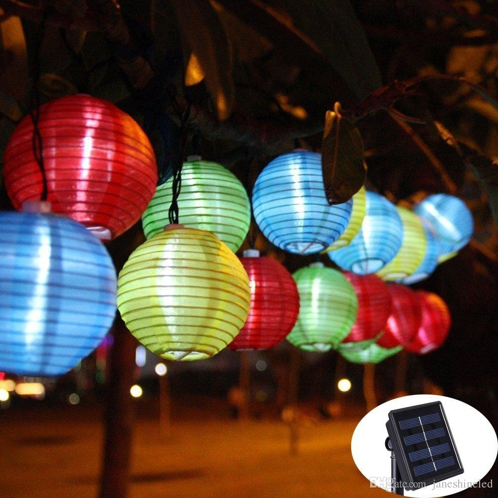 Featured Photo of Outdoor Ball Lanterns