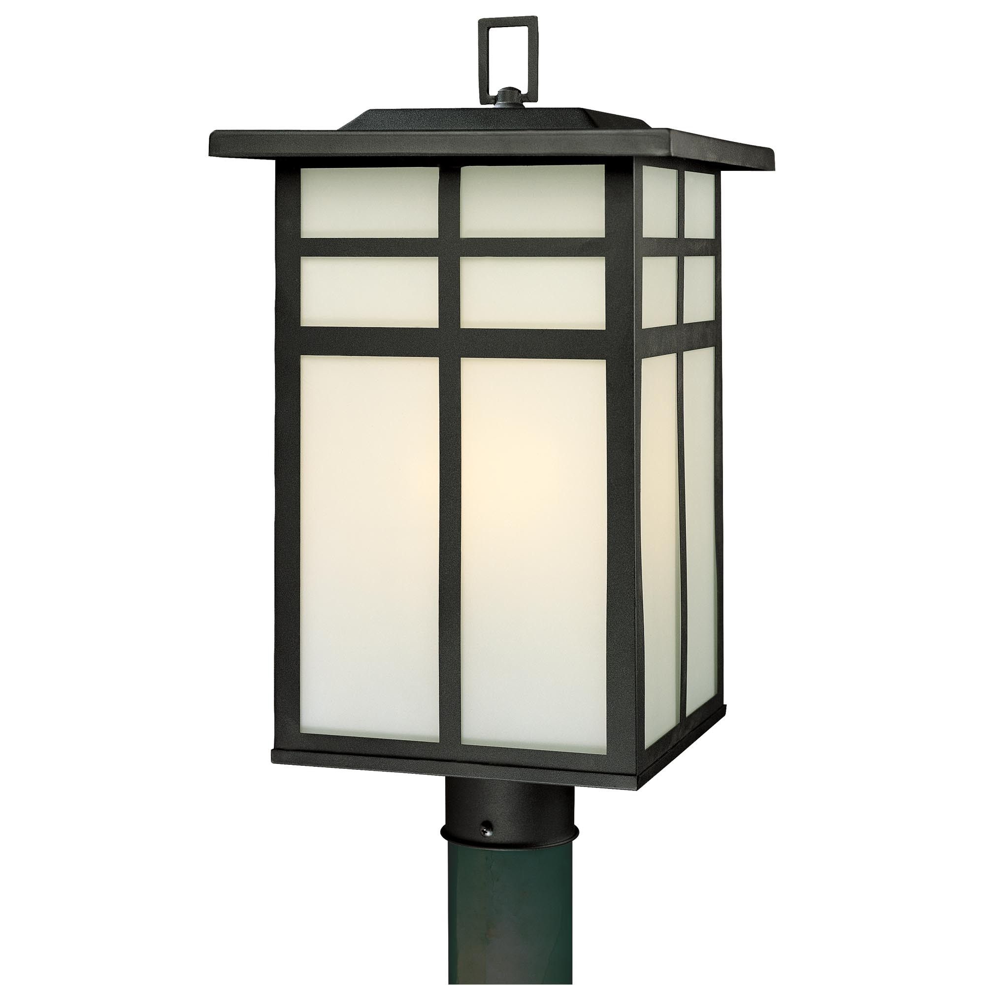 Lantern Post Light Outdoor | Sevenstonesinc throughout Outdoor Lanterns On Post (Image 8 of 20)