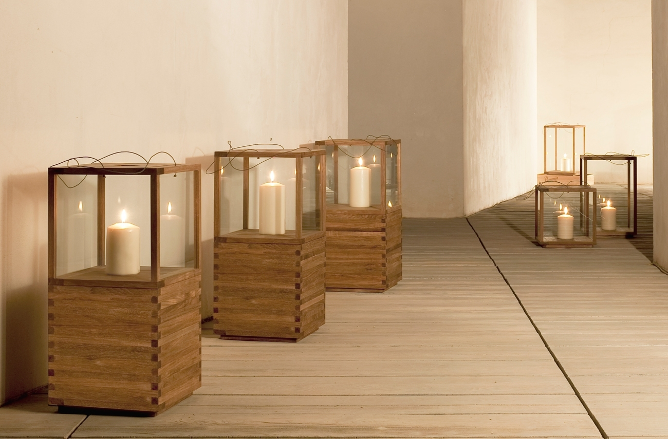 Lanterns | Tribù Within Outdoor Teak Lanterns (View 4 of 20)