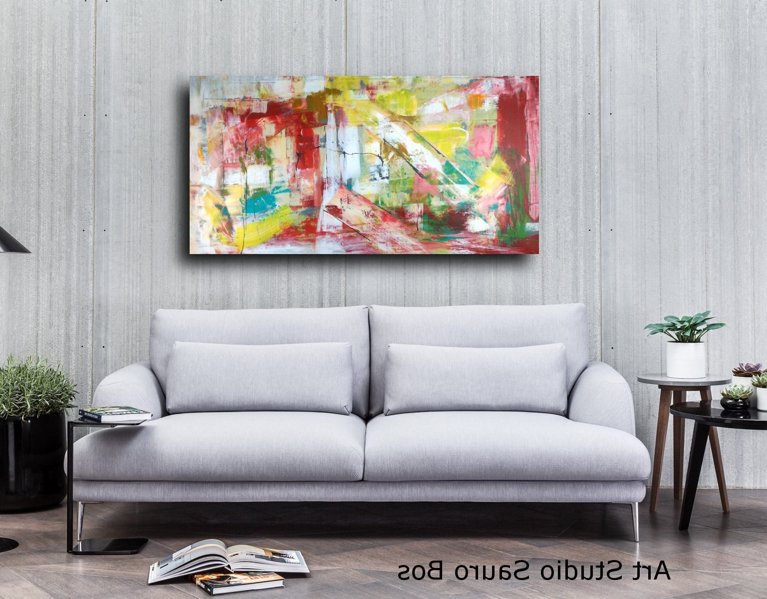 Large Abstract Wall Art Large Abstract Horizontal Living Room 120x60 In Horizontal Wall Art (View 13 of 20)