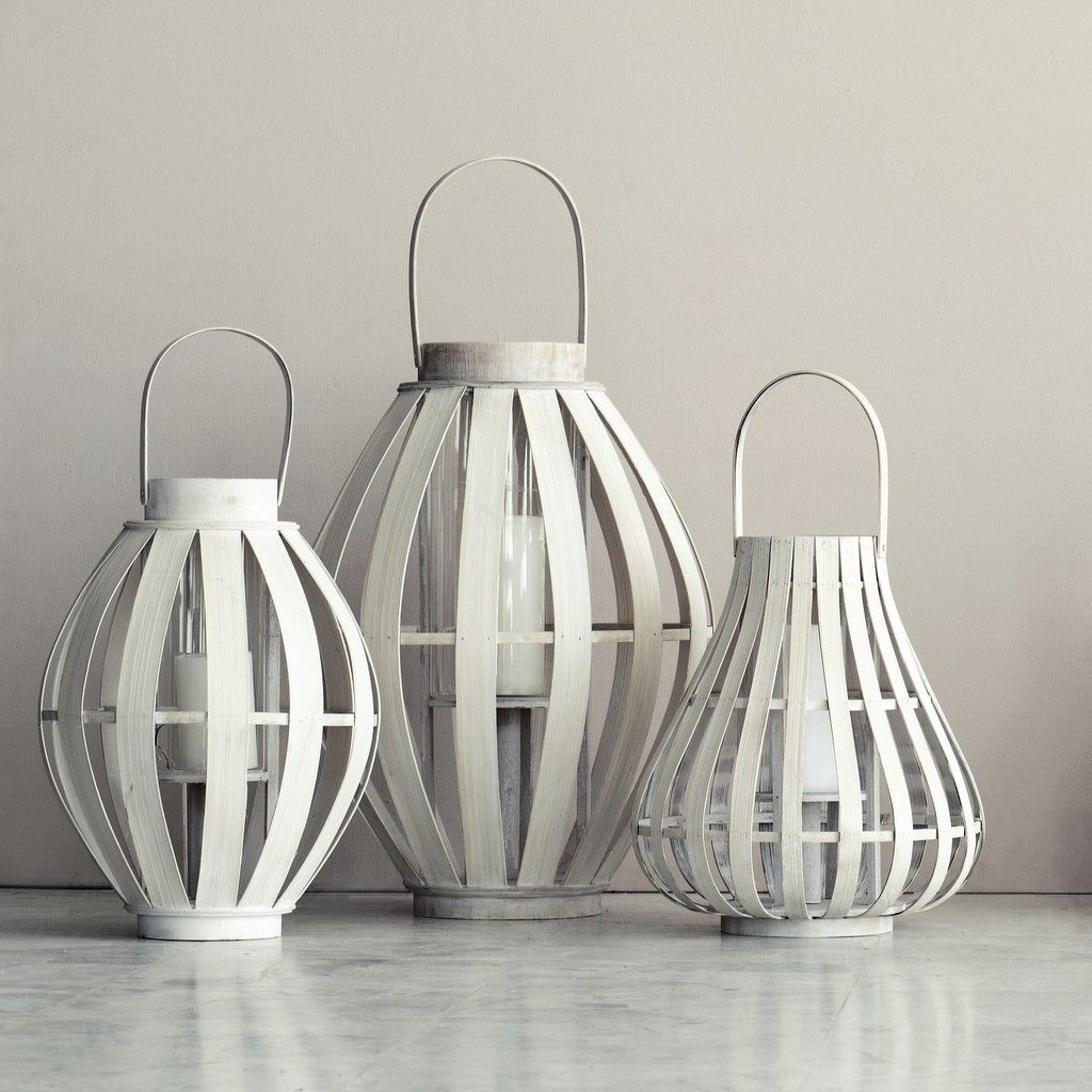 Large Bamboo Lanterns, From £38 @ Www.graceandgloryhome.co (View 13 of 20)