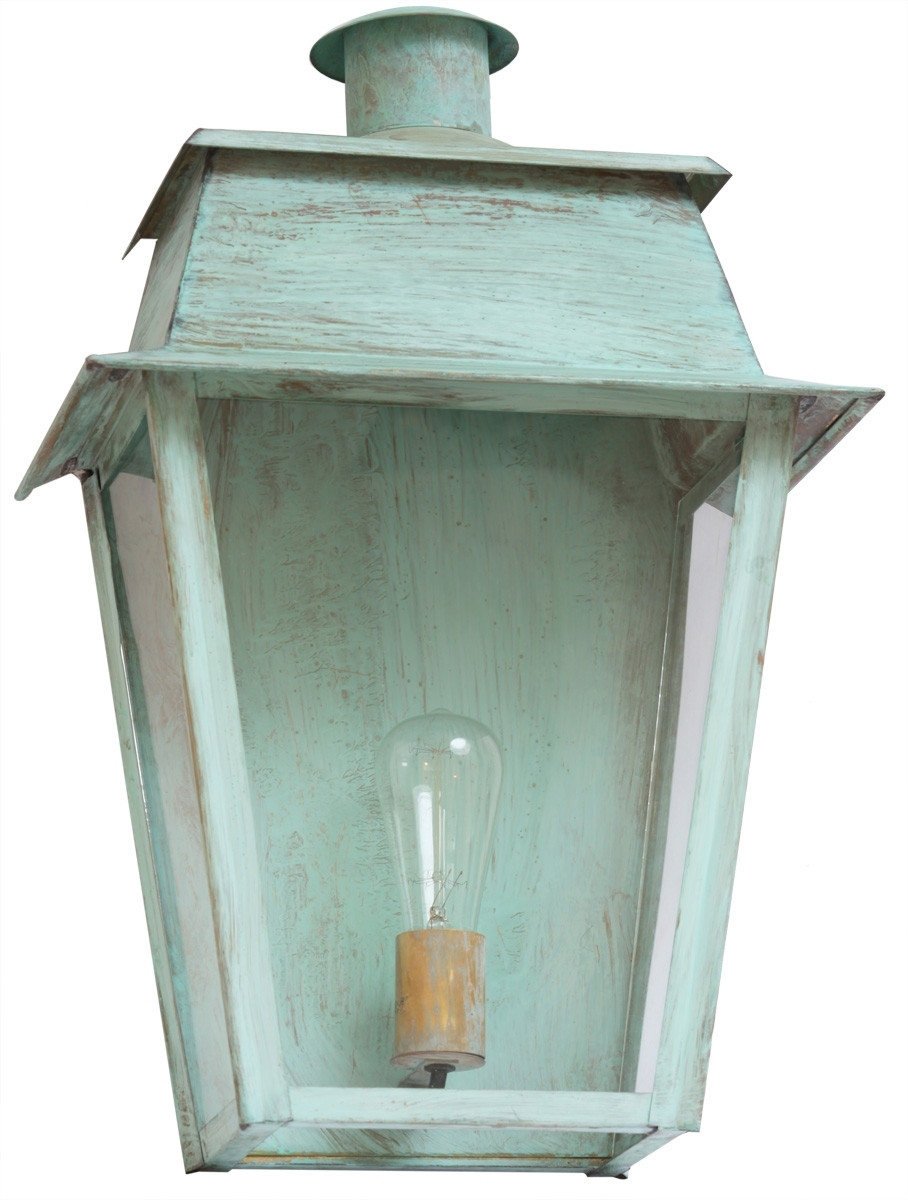 Large Brass Or Zinc Outdoor Lantern Bordeaux Tgm - Terra Lumi regarding Zinc Outdoor Lanterns (Image 13 of 20)