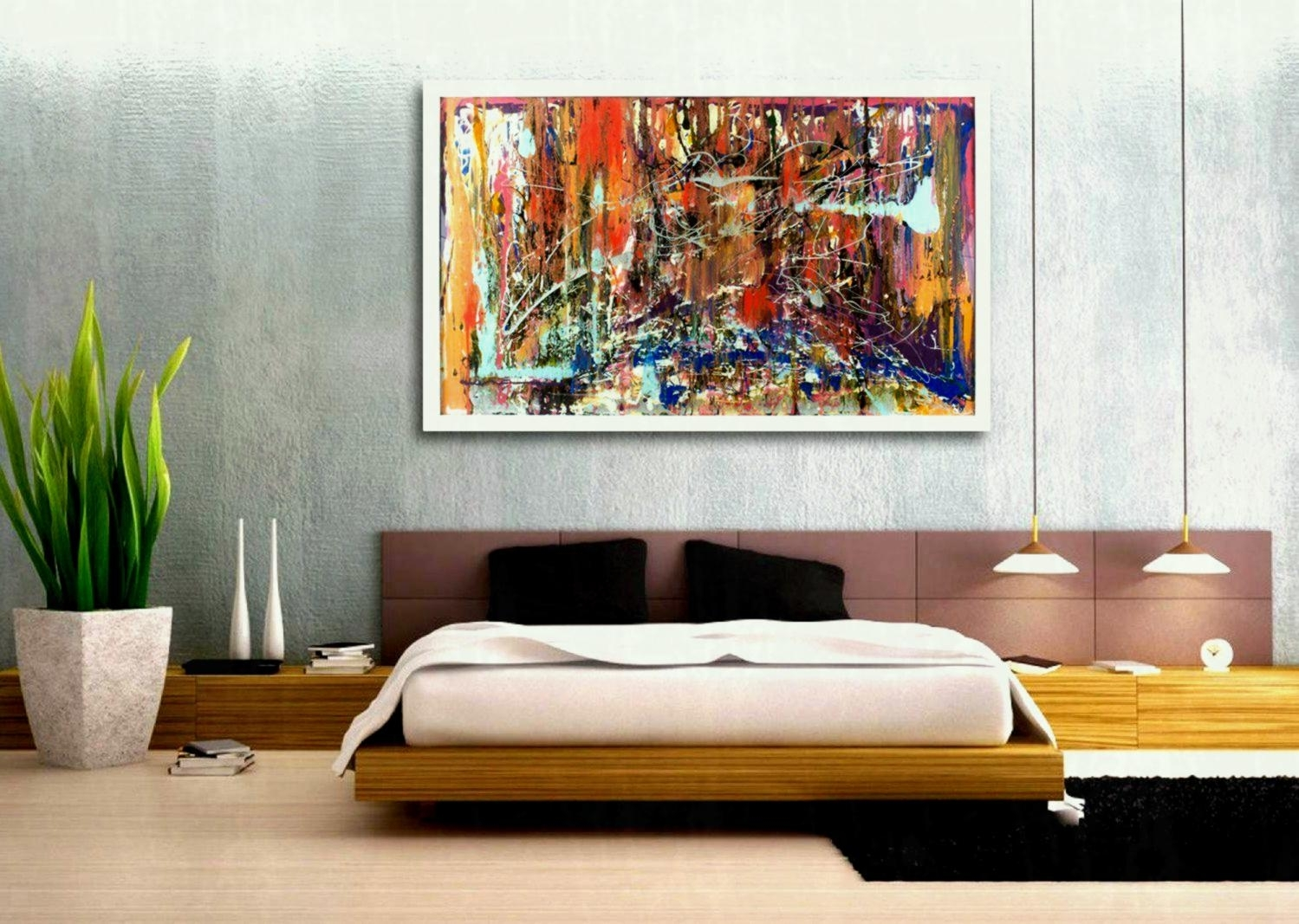 Large Canvas Wall Art Calm Soothing Huge Cheap Piece Living Room for Cheap Large Canvas Wall Art (Image 17 of 20)