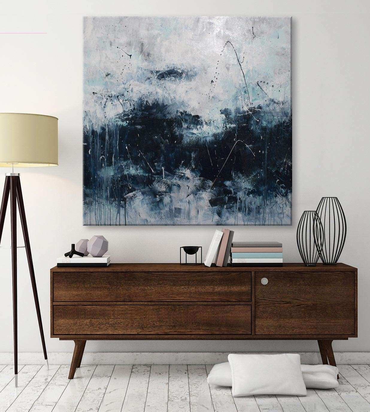 Large Contemporary Wall Art Fresh Large Abstract Seascape Painting Pertaining To Large Contemporary Wall Art (View 14 of 20)