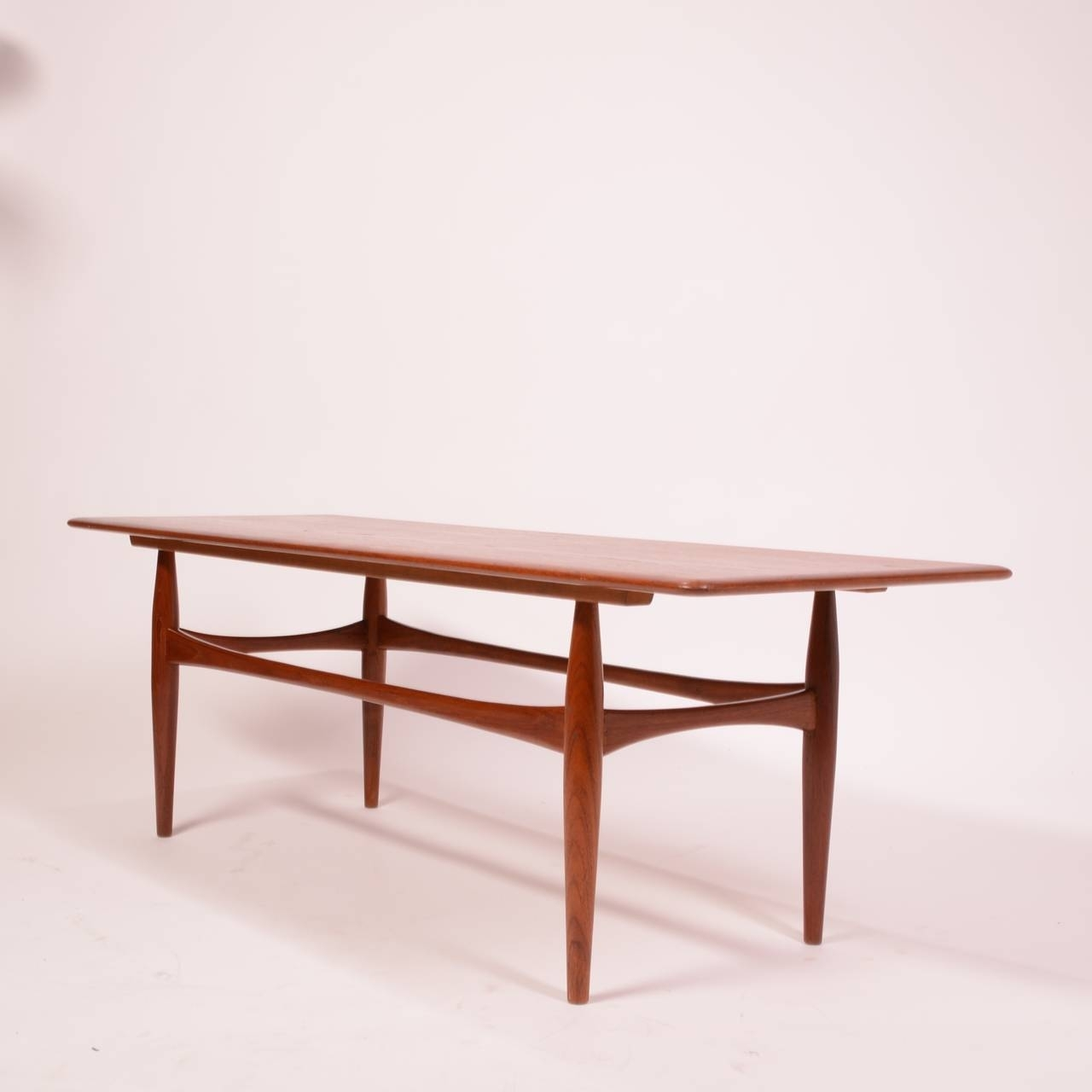 Large Danish Modern Coffee Table In Teak At 1Stdibs in Large Teak Coffee Tables (Image 9 of 30)