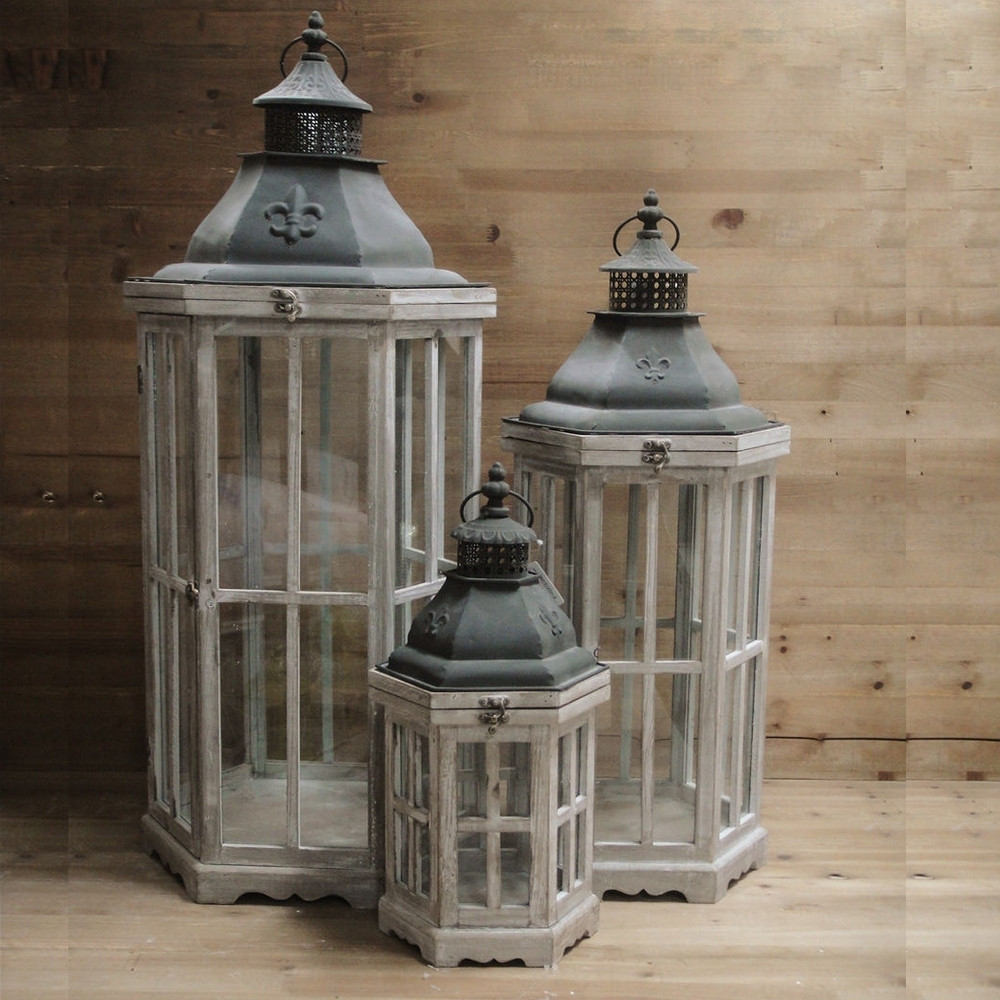 Large Decorative Candle Lanterns - Image Antique And Candle with Outdoor Big Lanterns (Image 10 of 20)