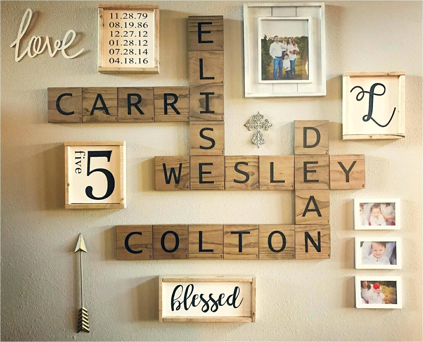 Large Free Standing Letters For Decorating Wall Decor Metal Letter within Metal Letter Wall Art (Image 8 of 20)
