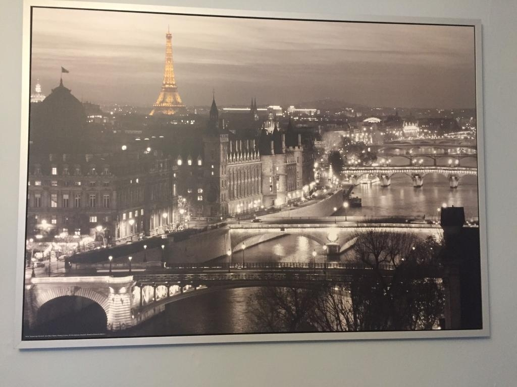 Large Ikea Paris Canvas Wall Art Picture | In Peterlee, County Inside Ikea Canvas Wall Art (View 13 of 20)