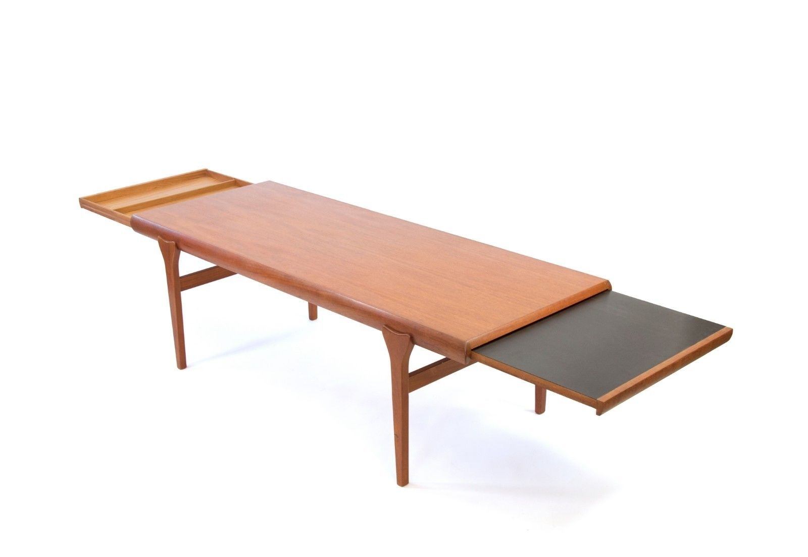 Large Johannes Andersen For Cfc Silkeborg Teak Coffee Table. Free intended for Large Teak Coffee Tables (Image 10 of 30)