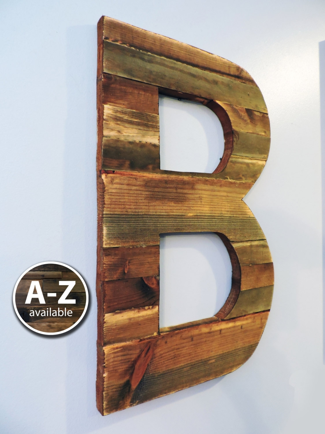 Large Letters For Wall Awes Large Letters For Wall Decor As Metal throughout Metal Letter Wall Art (Image 10 of 20)