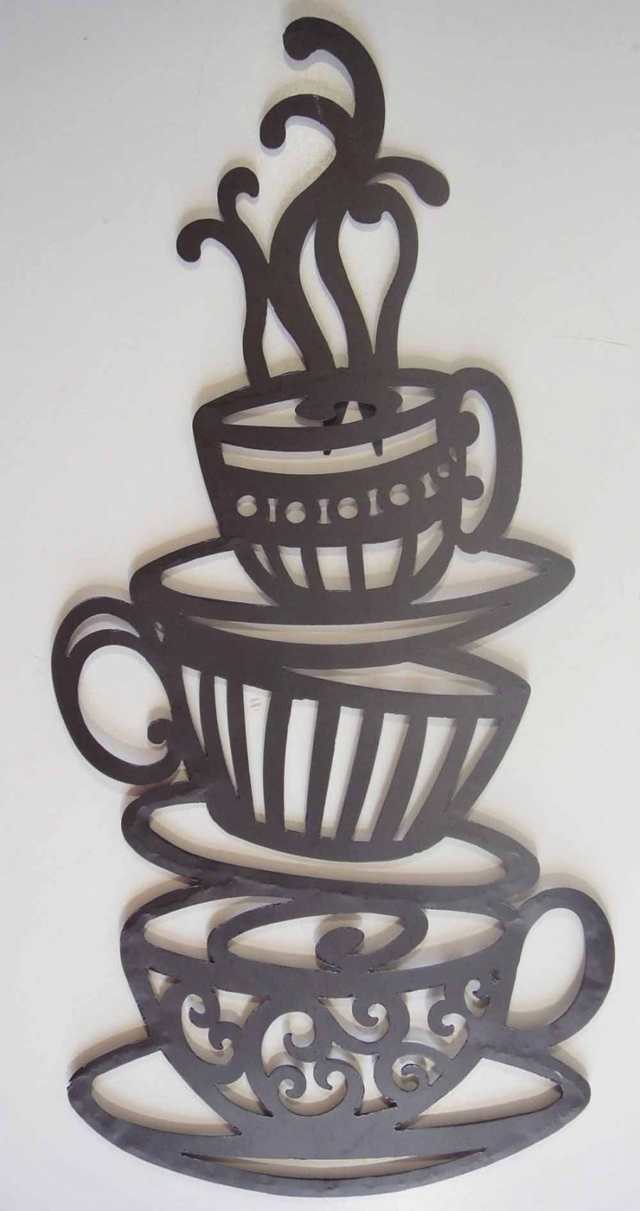 Large Metal Coffee Cup Wall Decor – Best Coffee Imagefact (View 14 of 20)