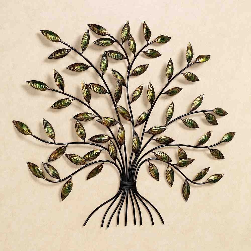 Large Metal Wall Decor Simple : The Lucky Design - Unique Material with regard to Large Metal Wall Art (Image 8 of 20)