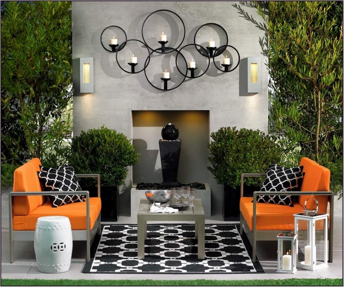 Large Outdoor Metal Wall Art Decor Cheap Amazon Bar Height Dining regarding Outdoor Wall Art (Image 7 of 20)